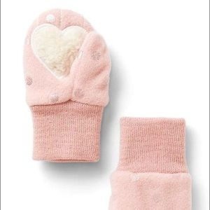 GAP Other - ❄️ Baby Gap Pro Fleece Pink Winter Mittens NWT ❄️