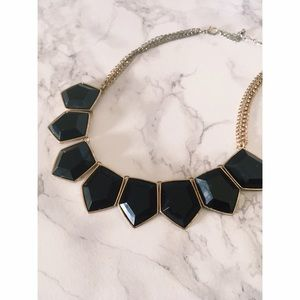 Francesca's Collections Jewelry - Black & Gold Statement Necklace