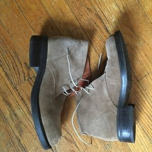 J.Crew Leather suede Tan boots