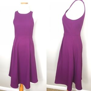 Everly violet midi dress