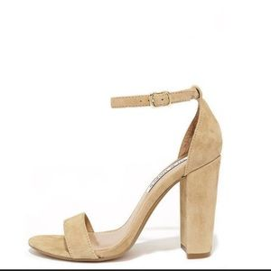 Shoes - Must Reserve 1st! Suede Ankle Chunky Heels