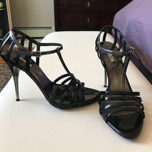 Miu Miu Shoes - Miu Miu patent leather sandal. Size 38.5.