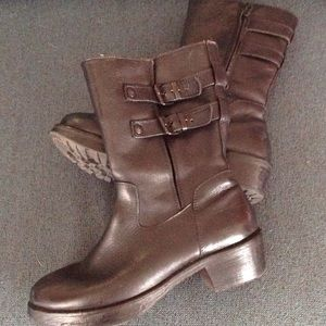 Barneys New York CO-OP Shoes - BARNEY'S CO OP black ankle boots