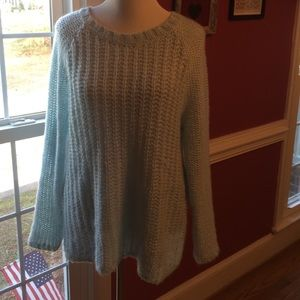GAP Sweaters - Gap Baby Blue sweater size L