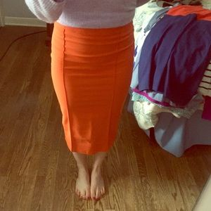 ASOS midi pencil skirt