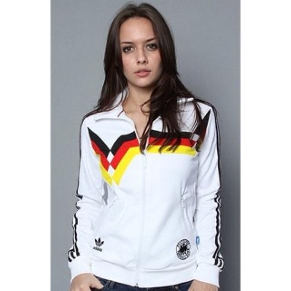 Adidas Jackets   Coats   Germany National Team Warm Up Track Jacket ... 0781693c7a