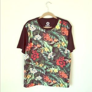 Hybrid Other - 🔺MOVING SALE🔺floral t-shirt with mesh fabric.