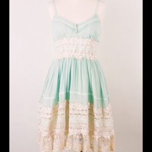 **BRAND NEW** LOVELY MINT LACE DRESS
