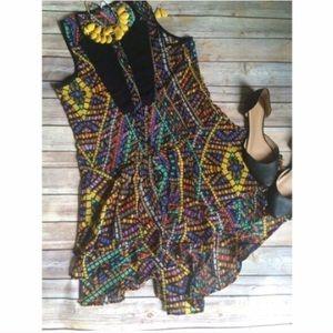 Dresses & Skirts - Colorful geo dress