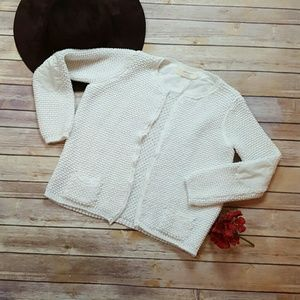 Zara knit chanel styled cardigan