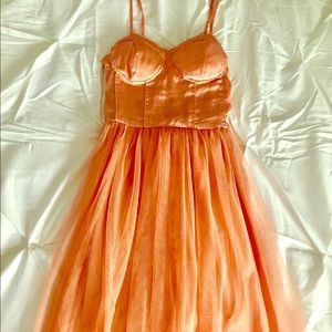 Band of Gypsies Dresses & Skirts - Band Of Gypsies peach party dress