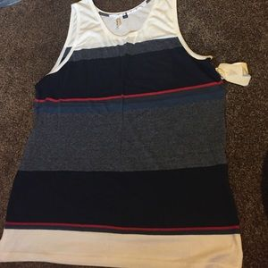 Univibe Other - Striped men's tank top