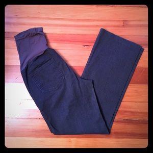 Maternity pants size s - run big