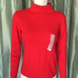 Karen Scott Sweaters - {karen scott} red sweater