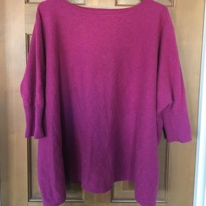 Garnet hill cashmere sweater shirt