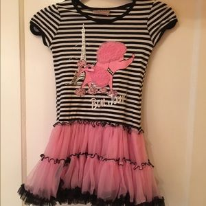 Beautees Other - Pink Poodle Dress