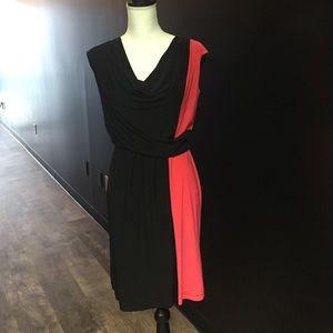 Perfection Dresses & Skirts - Perfection New York dress sz m orange black