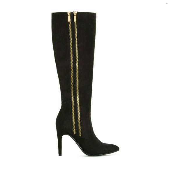 Find black boots gold zipper at ShopStyle. Shop the latest collection of black boots gold zipper from the most popular stores - all in one place.
