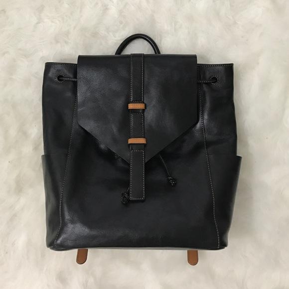 988d3e1666f7 Vera Bradley Big Sky Black Leather Backpack. M 5866d3a056b2d6ecd801abc6