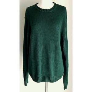 Chaps Other - Chaps Ralph Lauren Men's Hunter Green Sweater