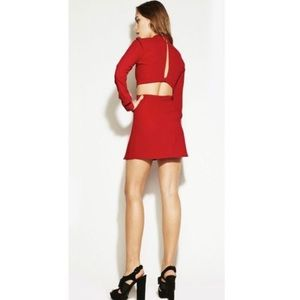 Reformation Dresses & Skirts - Reformation Red Chai Dress