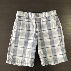 Micros Other - Plaid Blue and Gray Shorts