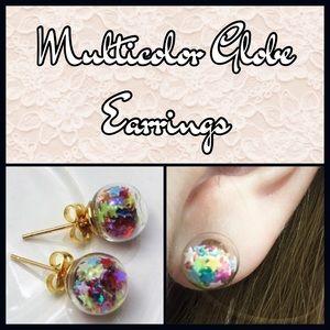 Jewelry - (N1) 🦄5 for $35🦄 Glass Globe Earrings