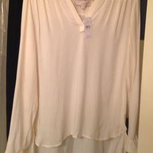 Loft Fashion Tops - Loft cream color blouse