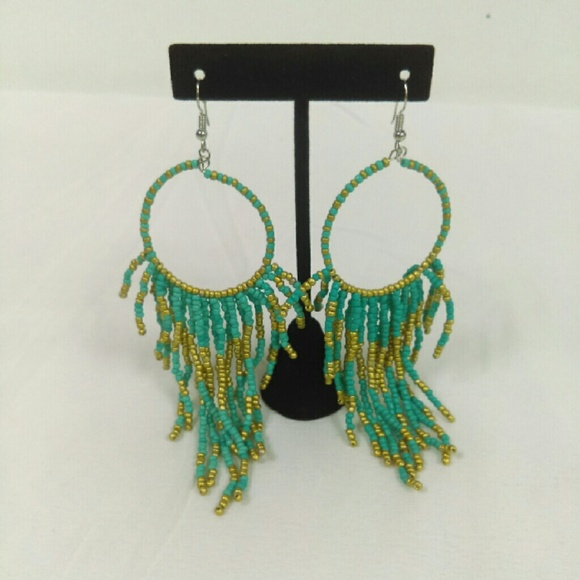 Deja Vous Jewelry - NWT Turquoise Gypsy Earring