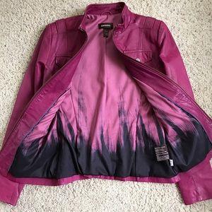 All Saints Jackets & Blazers - PRICE DROP⚠️FIRM🎯 Danier Pink 100% Leather Jacket