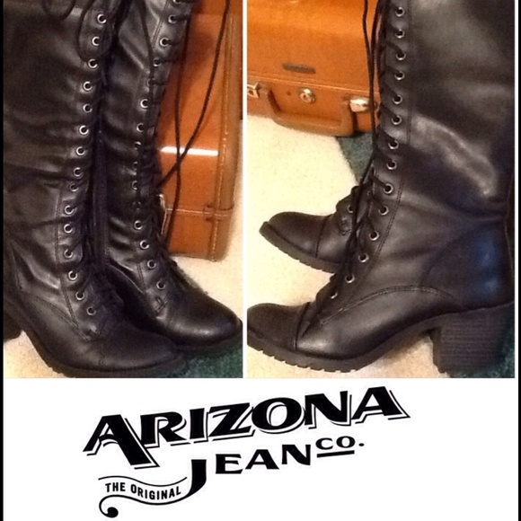 Arizona Jeans Co Lace Up Boots