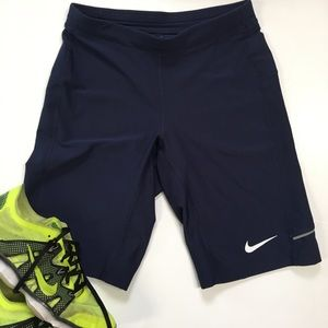 Nike Blue Compression Shorts