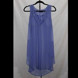 ASTR Dresses & Skirts - Sheer light purple dress with pockets
