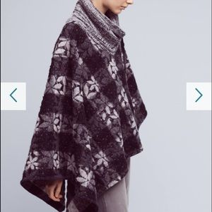 Anthropologie Jackets & Blazers - Anthropologie Wintertide Reversible Poncho