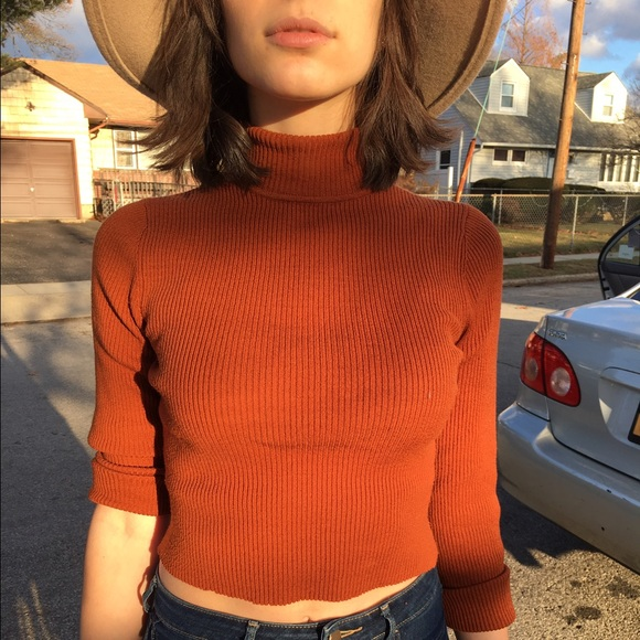 81% off Sweaters - Burnt Orange Turtleneck from Hailey's closet on ...