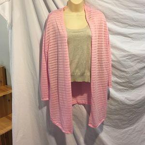 H&M Divided pink cardigan. Size medium.