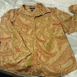 Chaps Plus Size Dress Shirt