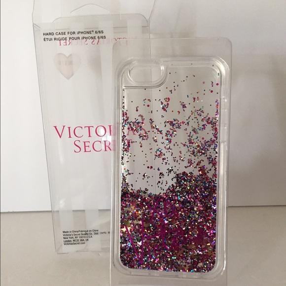 san francisco d193a a40b4 Victoria's Secret Glitter iPhone 6/6S case Boutique