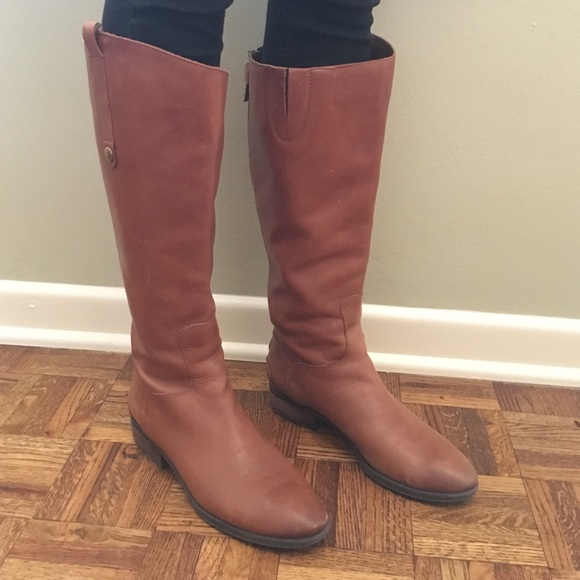 be42522f6e26 Sam Edelman wide calve penny leather riding boots!  M 5866df882599fe3b4001d8fd