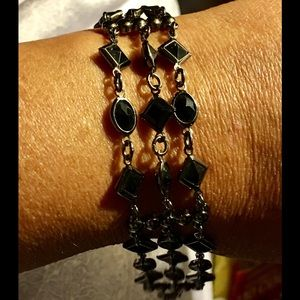 Jewelry - Nice Black Gem Bracelet 🖤