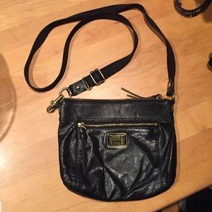 Coach Poppy Leather Swing Pack Crossbody Bag