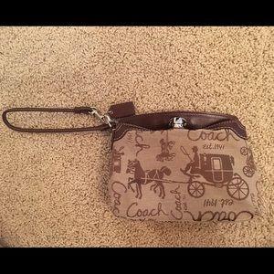 Coach Handbags - Price Drop!! Coach wristlet