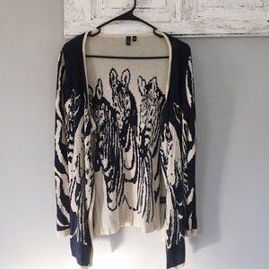 Lapis Sweaters - Lapis zebra cardigan