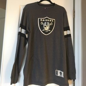 Majestic Other - Men's NWT Oakland Raider Long sleeve. Size L