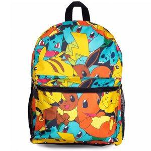 """Pokemon Handbags - Pokemon Starter 16"""" Backpack"""