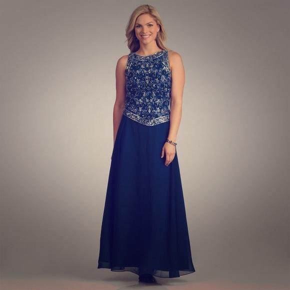 J Kara Dresses   Beaded Gown   Poshmark