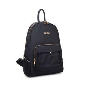 Sol and Selene black backpack