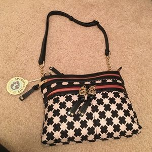 Spartina 449 Handbags - Spartina 449 Zipper Hipster in Ellis Square
