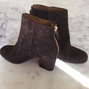 Nine West Shoes - Nine West NWOB Brown Suede Booties