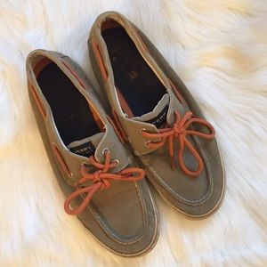 Sperry Top-Sider Other - HP 1/18 Men's Canvas Sperry Boat Shoes